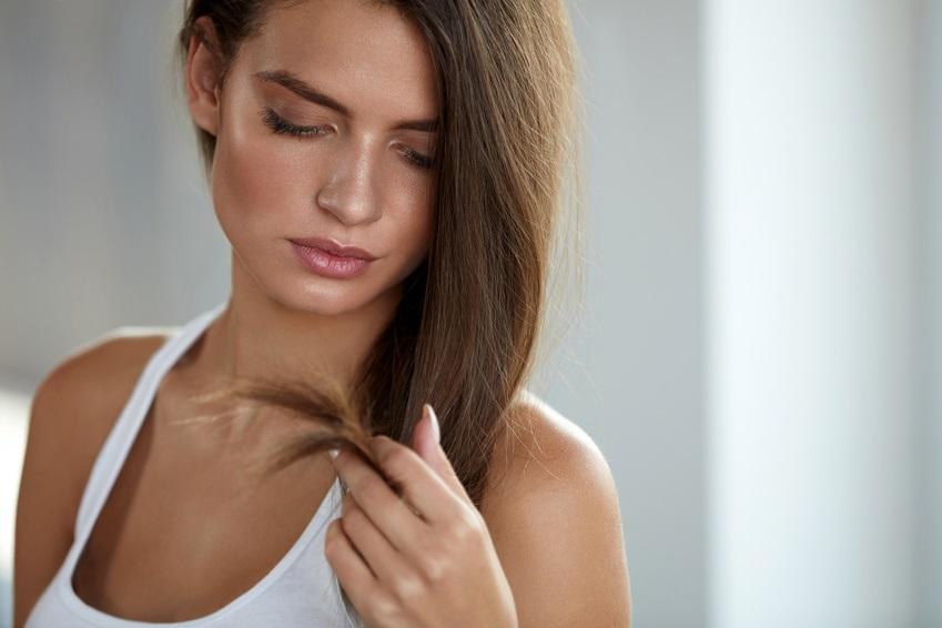 Squalan Haarspitzen